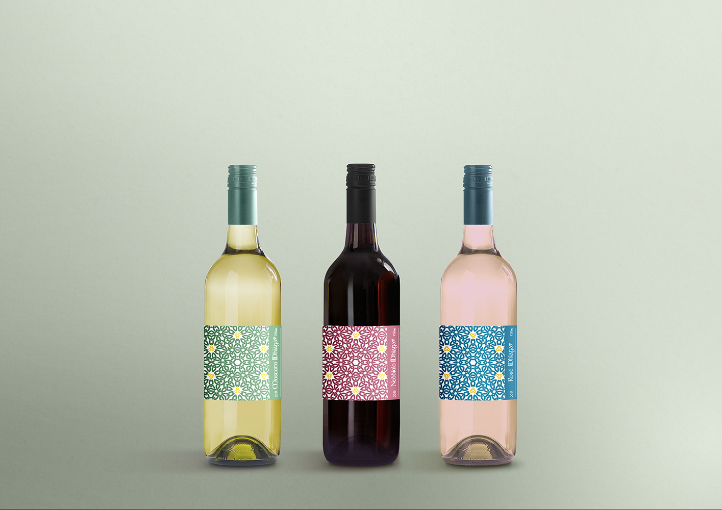 Dhiaga Wine Labels